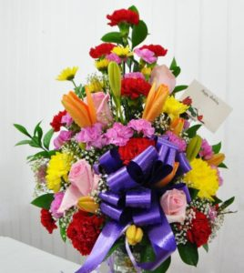 Mixed Floral Bouquet 2 US$85
