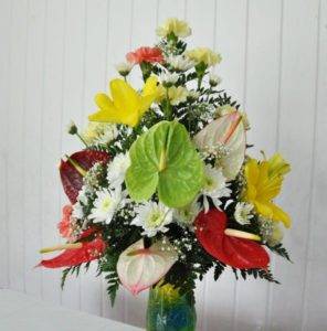 Mixed Bouquet 3 with Anthurium US$89