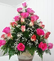 48 All Rose Arrangement