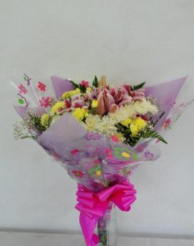 30 Stem Gift Wrapped Assorted Fresh Cut Flower