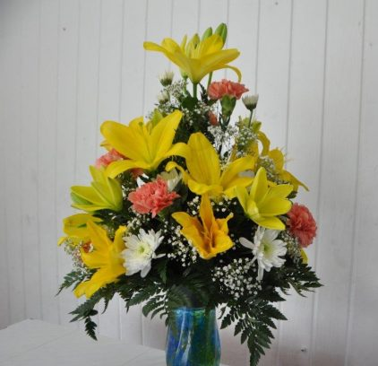 Mixed Bouquet 4 with Lily