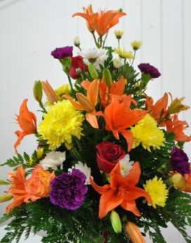 Mixed Bouquet with Asiatic Lily