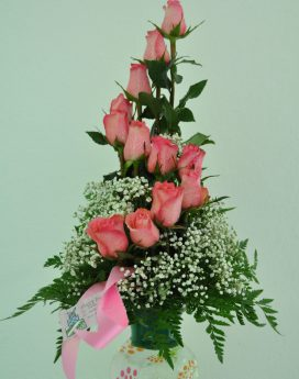 Special 12 Rose Arrangement