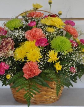 Table Arrangement in Basket